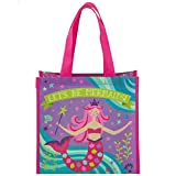 Stephen Joseph girls Mermaid Stephen Joseph Gifts Medium Recycled Gift Bag, Mermaid, No Size US