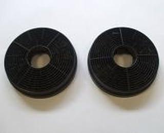 Original Bomann aktiverat kolfilter 256300 2-delat set för spishuva DU 652 IX kolfilter, kolfilter, avdragare