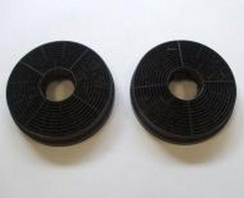 Originele Bomann actieve kool filter 256300 2-delige set voor afzuigkap DU 652 IX koolstoffilter, houtskool filter, deductor