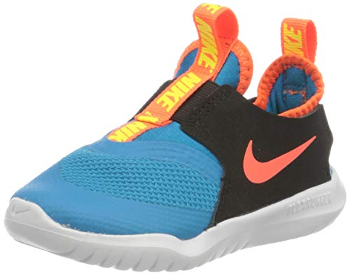 Nike Unisex-Kinder Flex Runner (TD) Laufschuh, Laser Blue Hyper Crimson Black, 25 EU