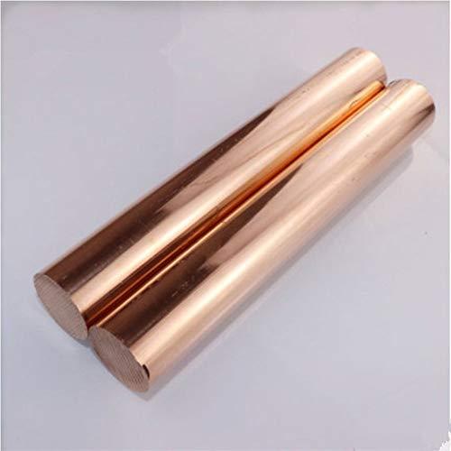 Nologo 12 Grössen Kupferrute Länge 100mm Durchmesser 4/5/6/7/8/10/12/14/15/16/18/20 mm Messing Strich T2 Kupferbarren DIY Drop (Size : 15mm)