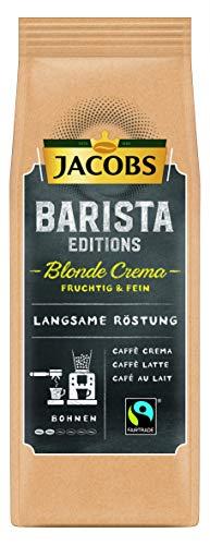 Jacobs Kaffeebohnen Barista Editions Blonde Crema, Bohnenkaffee, 6er Pack (6 x 210 g)