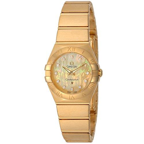 [オメガ] 腕時計 Constellation シャンパーニュ文字盤 ダイヤモンド 123.50.24.60.57.001 レディース 並行輸入品 ゴールド