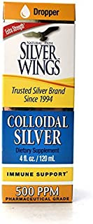 Dietary Mineral Supplement, Colloidal Silver, 500 PPM, 4 fl. oz. / 120 ml
