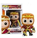 LUGJ Funko Pop Monkey King Kawaii Q Versión Nendoroid Anime Figura Goku En Caja Pop Vinilo Figuras D...
