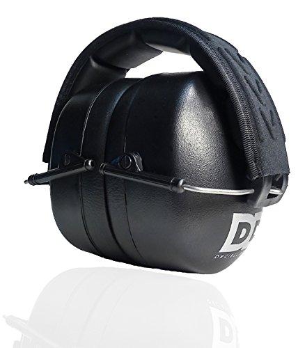 Professional Safety Ear Muffs by Decibel Defense – 37dB NRR