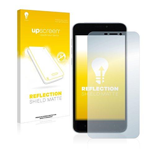 upscreen Entspiegelungs-Schutzfolie kompatibel mit Oukitel U20 Plus – Anti-Reflex Bildschirmschutz-Folie Matt