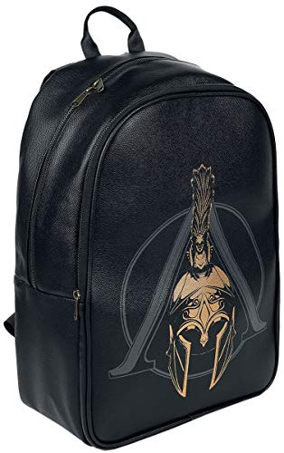 Difuzed Assassins Creed Assassins Creed Odyssey Logo Premium Rucksack, Unisex, Schwarz (BP147866ACO) Casual Daypack