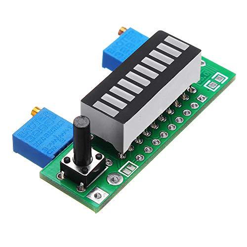 DIBAO Azul LM3914 Indicador de Capacidad de la Batería Módulo LED de la Historia del Probador de la Pantalla de la