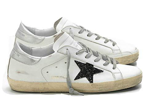 Women's Casual Walking Shoes Superstar Suede Trainers Sneakers Slide Black