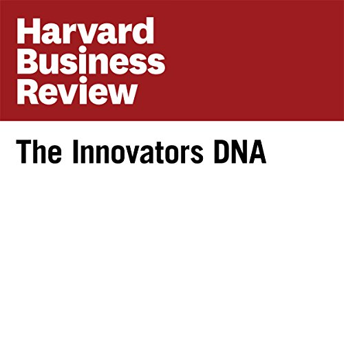The Innovators DNA (Harvard Business Review) audiobook cover art