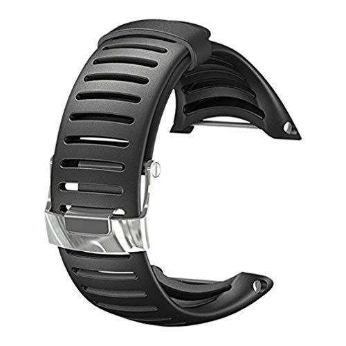 Suunto Core Standard Strap Correa para Relojes, Unisex, Negro, Talla Única