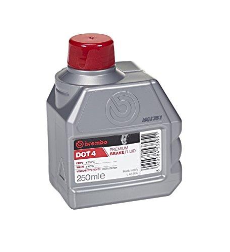 Brembo Liquide de frein Dot 4 de qualité supérieure - 250 ml - Pour voiture et moto