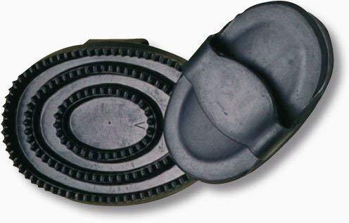 Karlie - Gummistriegel MINI - schwarz