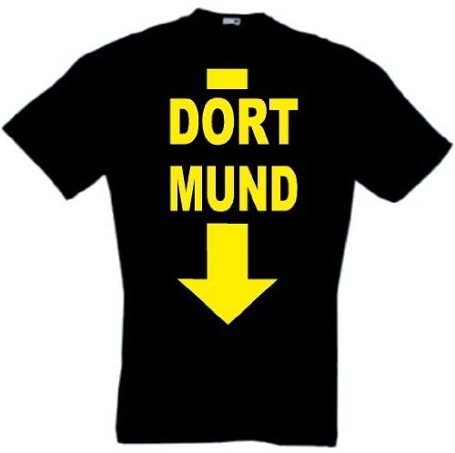 world-of-shirt Herren T-Shirt Dortmund Funshirt Dort Mund