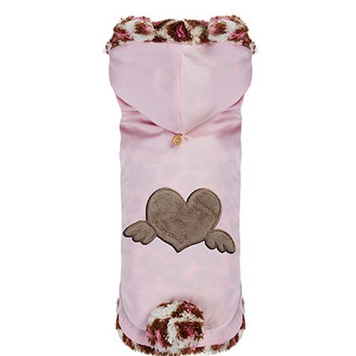 Puppy Angel Pull Over Heart pour Chiens Angel Rose Taille S
