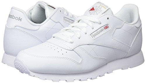 Reebok Classic Leather, Zapatillas de Trail Running Niños, Blanco (White 0), 33 EU