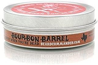 Bourbon Barrel Scent, Damage Control Wonder Balm, Beard Balm, BeardCommander.com, Soft Leave-in Conditioning Balm (1)