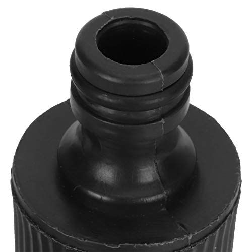 HAOX Rociador de Agua, plástico G1 / 2 24Pcs / Set Equipo de riego con Juntas Accesorios para Lavado de Autos