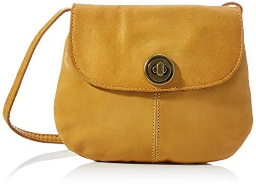 Pieces PCTOTALLY Royal Leather Party Bag Noos, Cabas. Femme, Couleur : doré, Taille Unique
