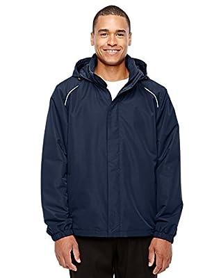 Ash City Mens Tall All Seasons Fleece-Lined Jacket (88224T) -CLASSIC NAVY -2XT