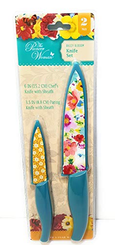 Pioneer Woman 2pc Breezy Blossom Knife Set