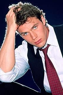 Jon-Erik Hexum Portrait in Shirt, Tie and Waistcoat Cover Up Star 24x18 Poster