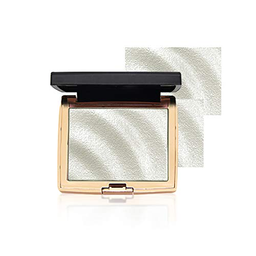 Onlyoily Highlighter Palette, Die langlebige wasserfeste gebackene Highlighter Puder Palette Makeup...