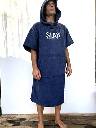 Slab-Poncho Navy Talla L/M
