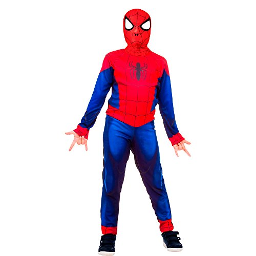 Fantasia Avengers Homem Aranha Clássica Longa, Regina 107944.1, Multicor