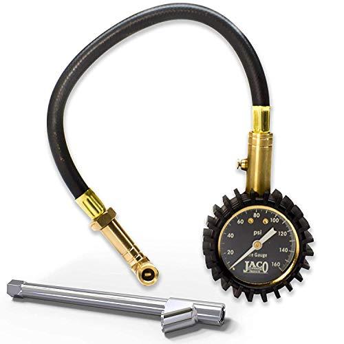 JACO EliteProPlus Tire Pressure Gauge with Dually Air Chuck - 160 PSI
