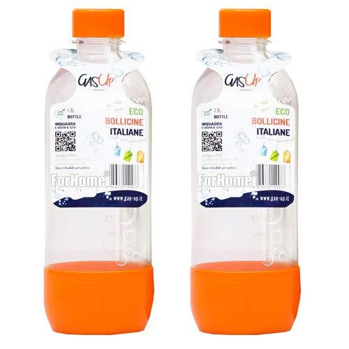 Bottiglia In Pet Per Gasatore Gas-Up 1 Lt - Orange - Confezione...