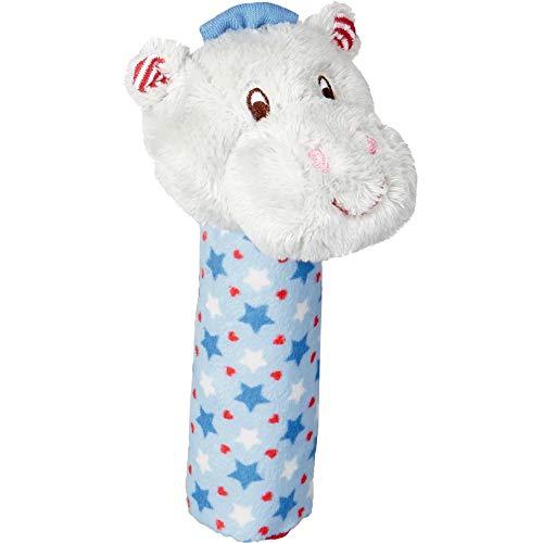 DIE SPIEGELBURG Serie Baby Glück Hipp, Hipp, Hippo! Nilpferd (Quietscher Hippo blau)