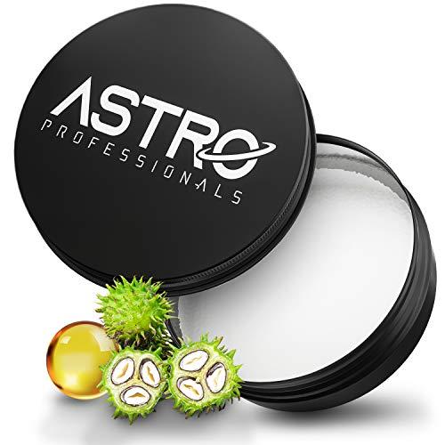 ASTRO Shine Premium Pomade Wasserbasiert - Perfekter Glanz mit Barber Qualität - Pomade Strong Hold - Haar-Styling Pomade für Männer - Starker Halt – dermatologisch getestet