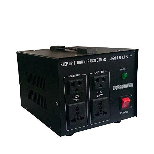 Spannungswandler 220V auf 110V Wechselrichter 500W/1000W/2000W Stromwandler DE (2000W)