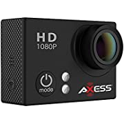 AXESS Full HD Wide Angle Lens Sports and Action Camera
