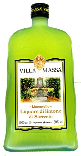 Zitronenlikör Limoncello 30% 1 lt. - Villa Massa