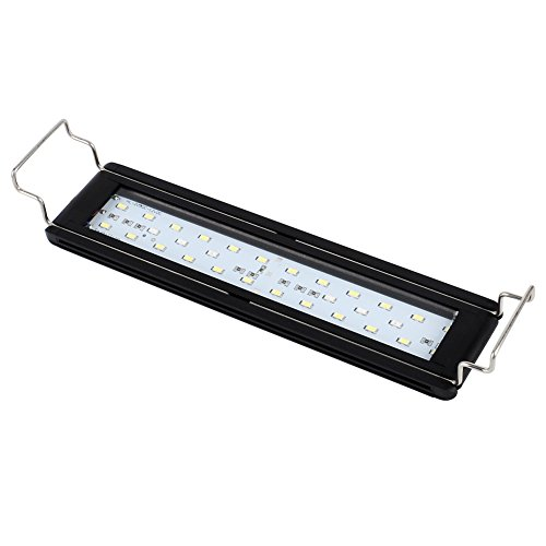 NICREW LED Aquarium Light for Planted Fish Tank, White and Tri-Colored RGB LEDs