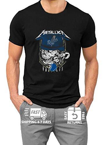 Metal-lica Skull L-os ANG-eles Logo Shirt