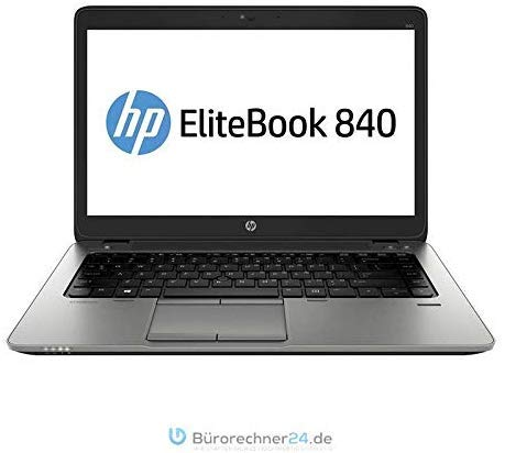 HP Elitebook 840 G1 - i5 Premium Business-Notebook - 250GB SSD, Intel Dual Core i5 Prozessor, 8 GB RAM, 14in Zoll 1600x900 HD+ Display, Windows 10 Pro - (Generalüberholt)
