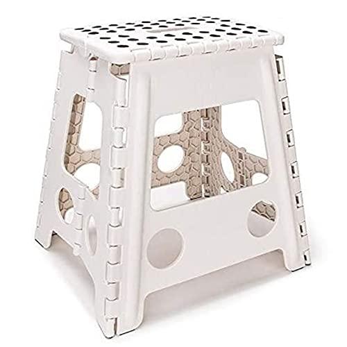 Silla camping plegable sillas plegables camping Portable de la silla plegable de plástico de 15 pulgadas senderismo Presidente del pie Paso taburete de cocina Cuarto de baño WC Jardín de heces al aire