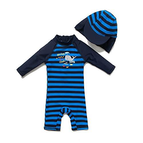 upandfast Baby Boy 3/4 Sleeve Rashguard Baby Beach One-Piece...