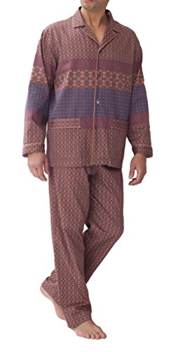 Zimmerli Pyjama The Grammar of Ornaments Pyjama 4661 Herren Schlafanzug (L)