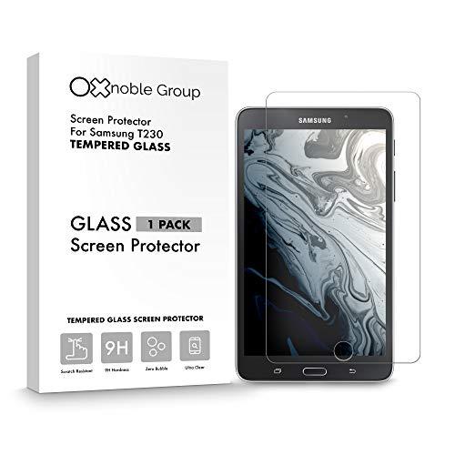 Oxnoble - Protector de pantalla de cristal para Samsung T230 Galaxy Tab 4 (2014)