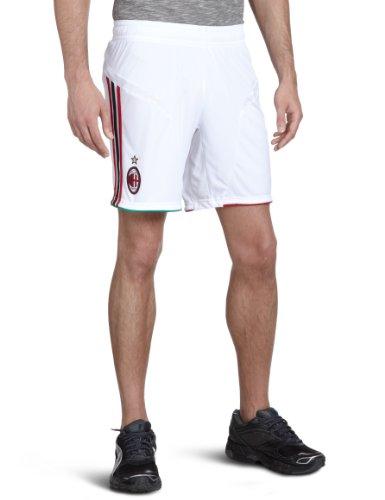 adidas Herren Kurze Hose AC Milan Home & Away, white/acm red home 11/ acm black, M, X23704