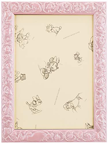パズルフレーム ディズニー専用 アートフィギュアパネル 108ピース用 パールピンク(18.2x25.7cm)
