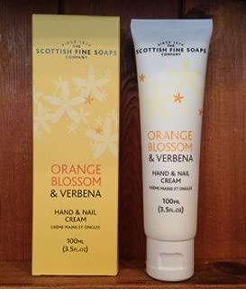 Scottish Fine Soaps Orange Blossom & Verbena Hand & Nail Cream 3.5 Fl. Oz. Tube.