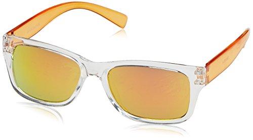 DICEB|#Dice Dice Unisex Kinder Sonnenbrille, Shiny Crystal Orange, One size, D03370-4