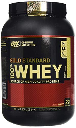 Optimum Nutrition 100% Whey Gold Standard, 2 LB Dose (French Vanilla Creme)