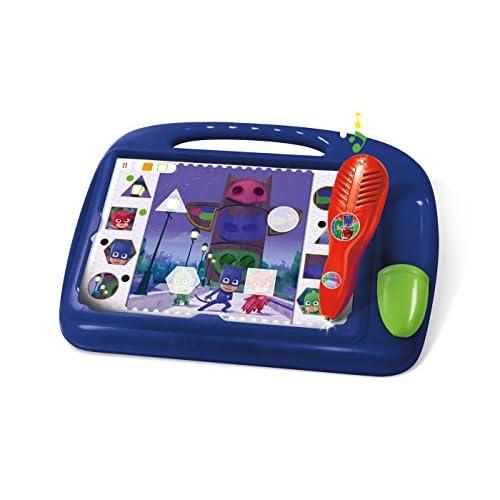 Clementoni - 11988 - Sapientino - Travel Quiz PJ Masks Superpigiamini, penna interattiva, elettronico parlante, gioco educativo bambini 4 anni, batterie incluse (versione in italiano)